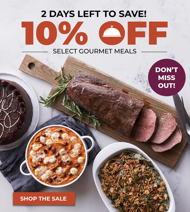 10% off meals