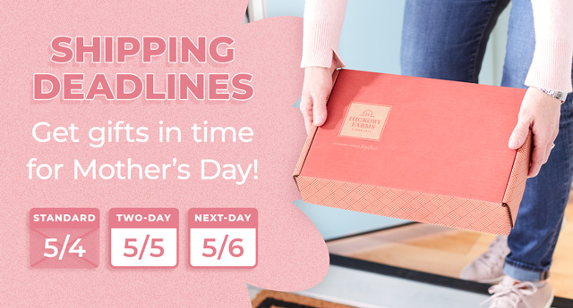 Get gifts in time for Mother's Day