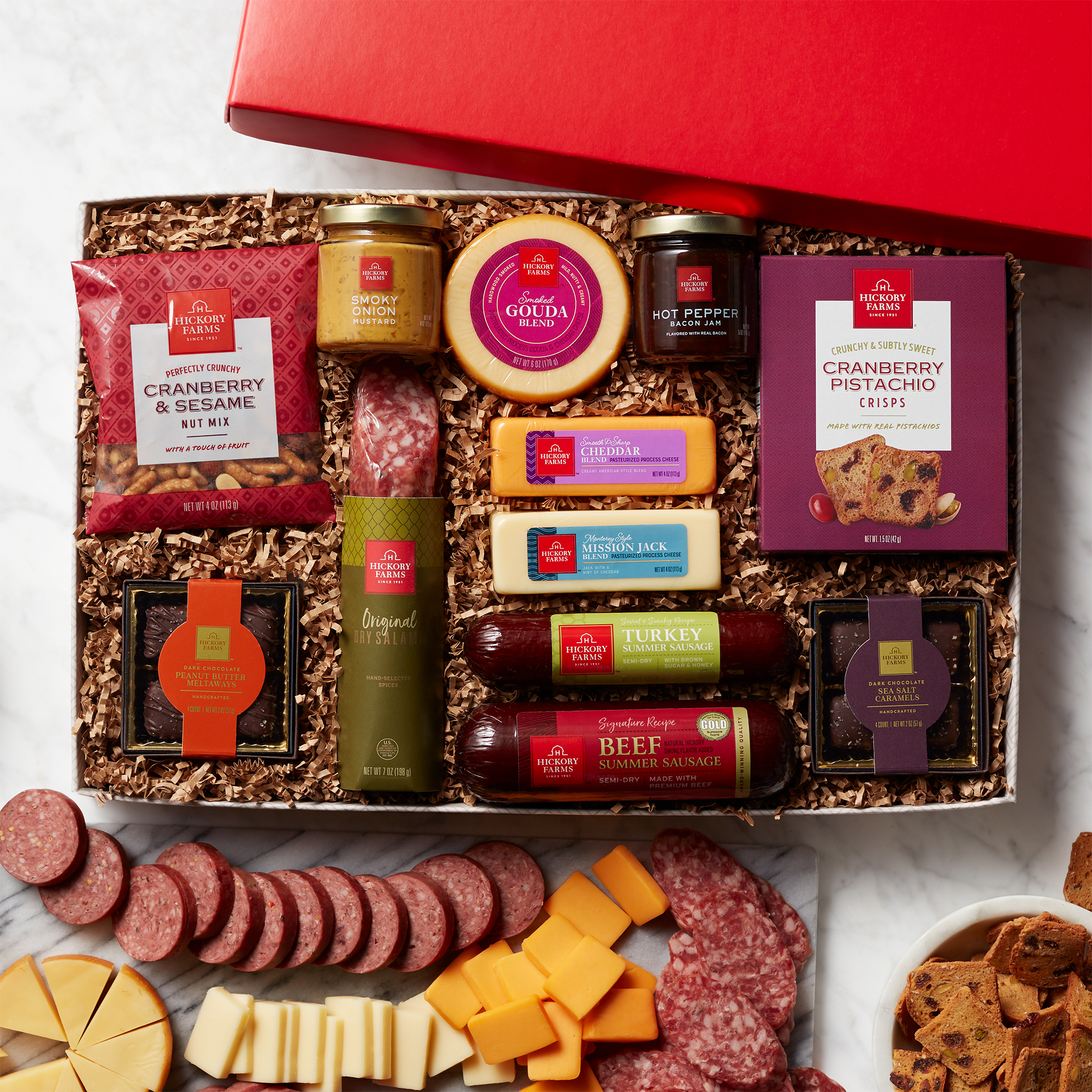 Cheese & Sausage Lover's Gift Box