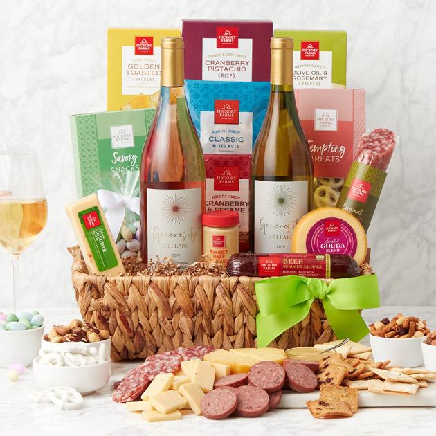 Spring Deluxe Sip & Snack Gift Basket