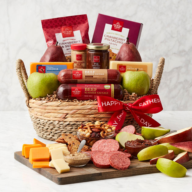 Father's Day Premium Fruit & Snack Gift Basket