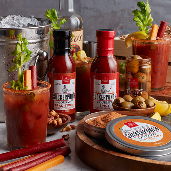 Gourmet Bloody Mary gift crate