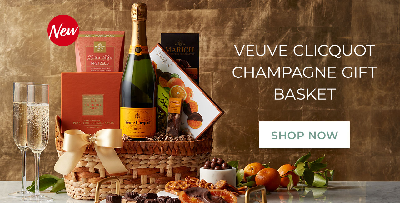 Veuve clicquot champagne gift basket | Shop now