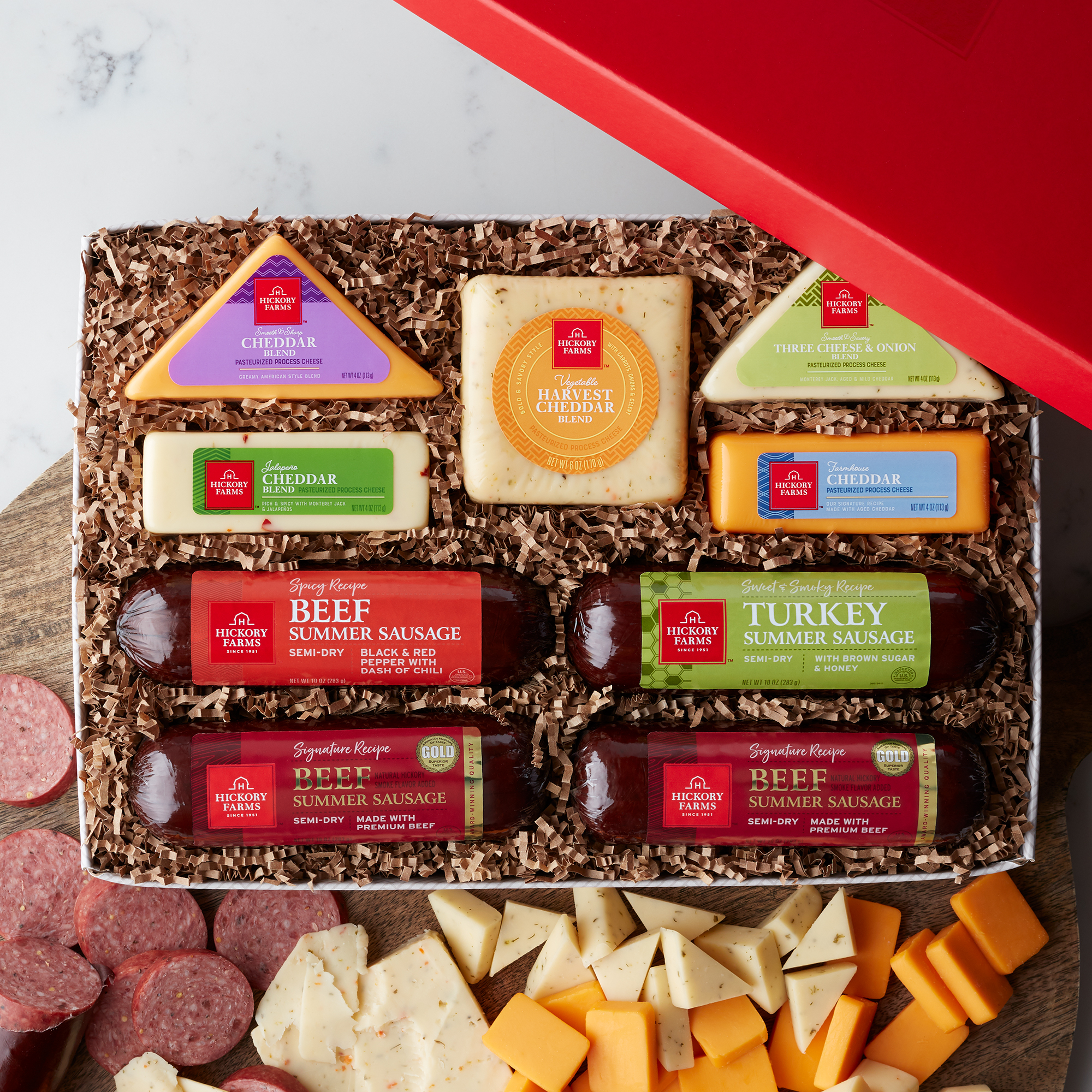 Cheese & Sausage Lovers Gift Box