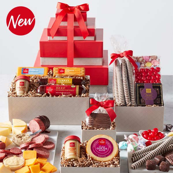 Deluxe Sweet & Savory Gift Tower