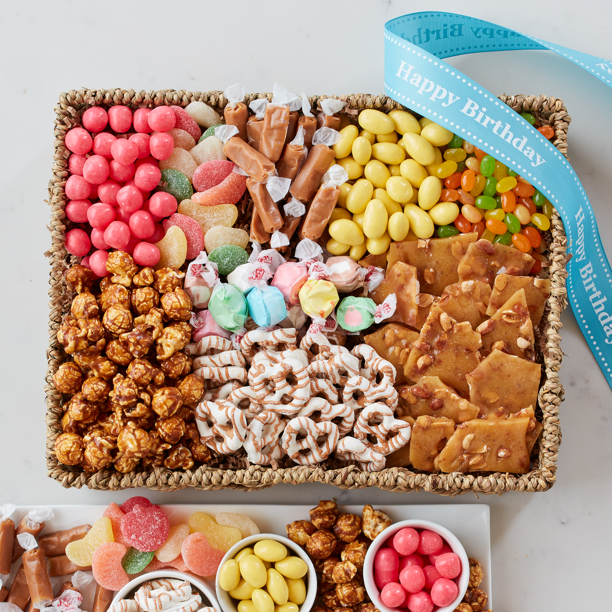Shop birthday sweets gift basket